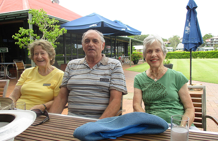 Maureen and Erik Platzer and Lynn Moffitt.
