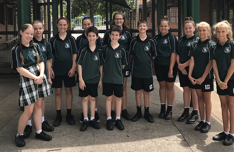 Irrawang Year 7 Twins - Kathyln and Leo Stevens, Hayley and Libby Gentle, Nick and Will Watts, Abbey and Issac Keeley, Breony and Chloe Davis, Mikayla & Alisha Snow