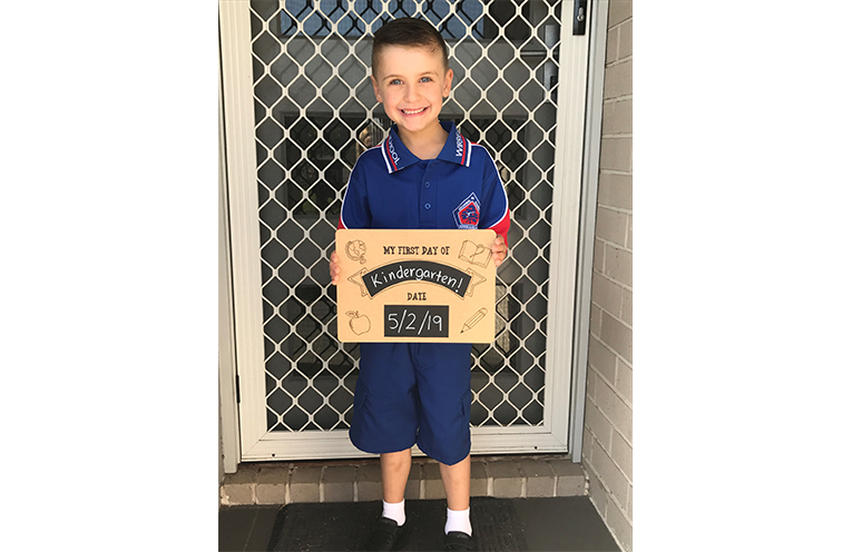 """Hayden Bohun, Wirreanda Public School, """"My favourite things at big school are playing with my friends and being kind to my friends."""""""