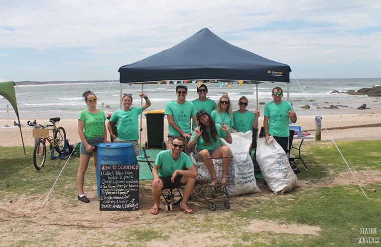 The Seaside Scavenge Team.