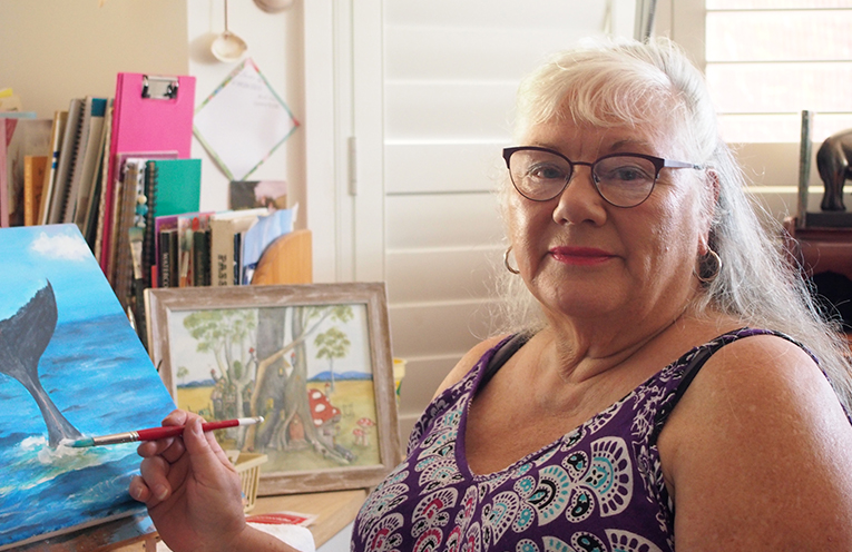 Feature Artist Kathleen Murray.