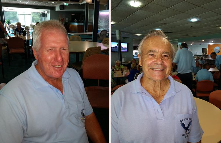Front nine winner Keith Smith. (left) Back nine winner Bob Ziehlke. (right)