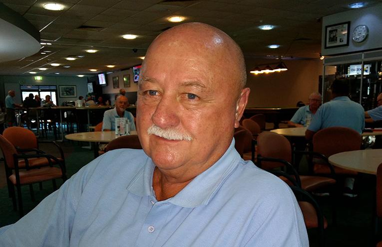 Back nine winner John McDonald.