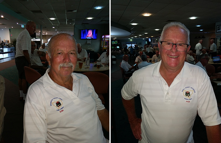 B Grade winner Mick Hoban. (left) C Grade winner Paul Dodd.  (right)