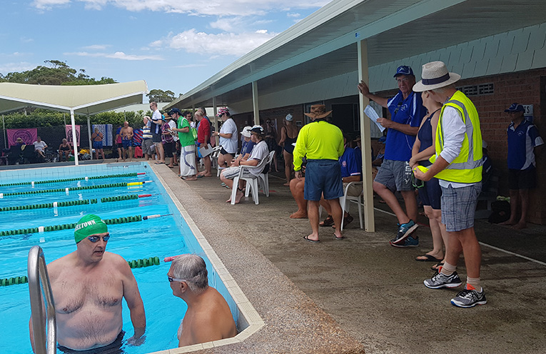 TEA GARDENS SWIMMING POOL: Myall Masters Branch Point Score Meet.
