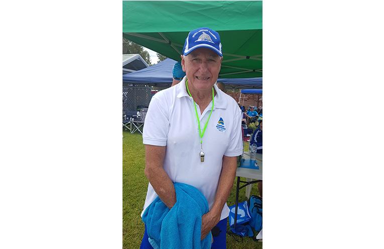 MYALL MASTERS CARNIVAL: President Chris Lock.