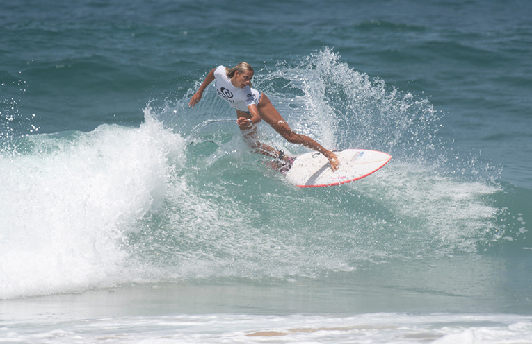 Elle Clayton Brown taking out the Wildcard event.. Photo Ethan Smith Surfing NSW.