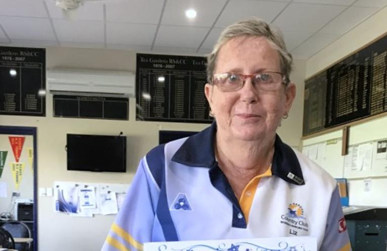 Elizabeth Kelly member of Women's Bowls NSW for 25 years.