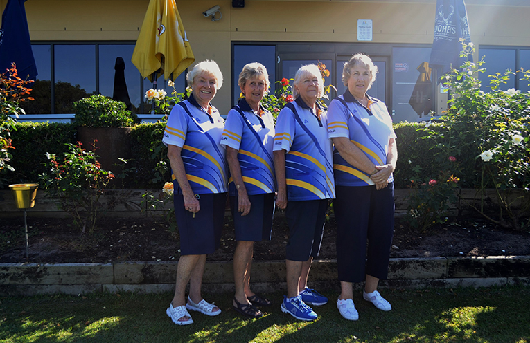 Runners Up: Kathie Rimmer, Jeanette Emmett, Dot Dallas and Dawn May.