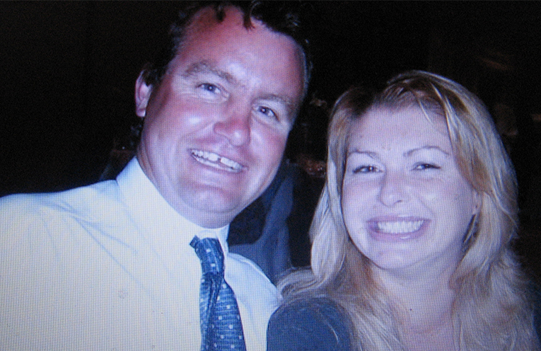 Happier times – Craig and his wife Natalie.