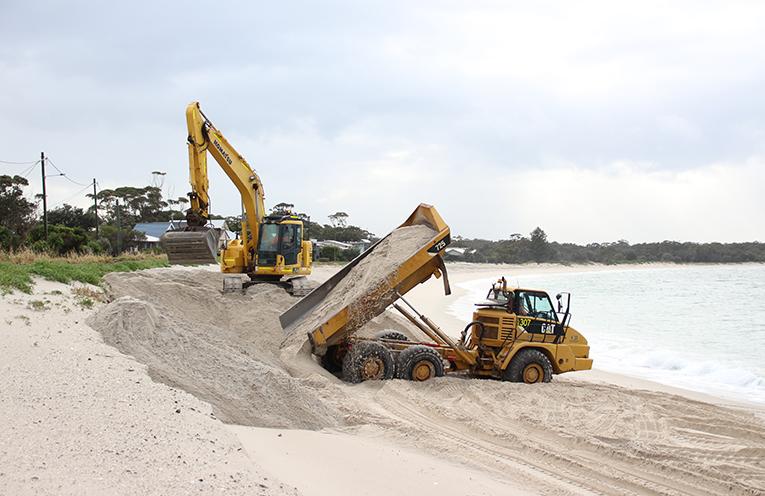 Jimmys Beach Repair.