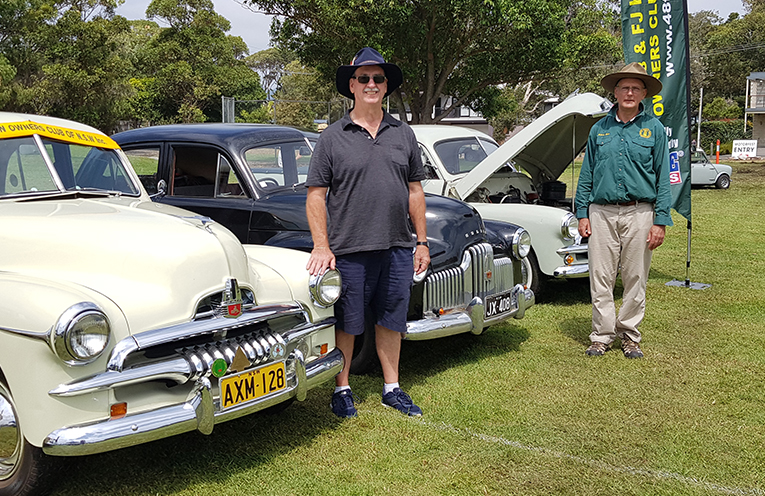 48 AND FJ HOLDEN CLUB: Robert Shaw and Peter Hesse.