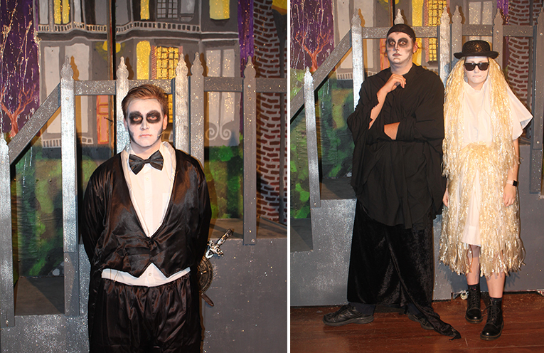 Liam Garemyn - Liam lives in Bulahdelah in a large acting family (similar to the Addams).  (left) Lachlan Rutter and Ashleigh Dorney.  (right)