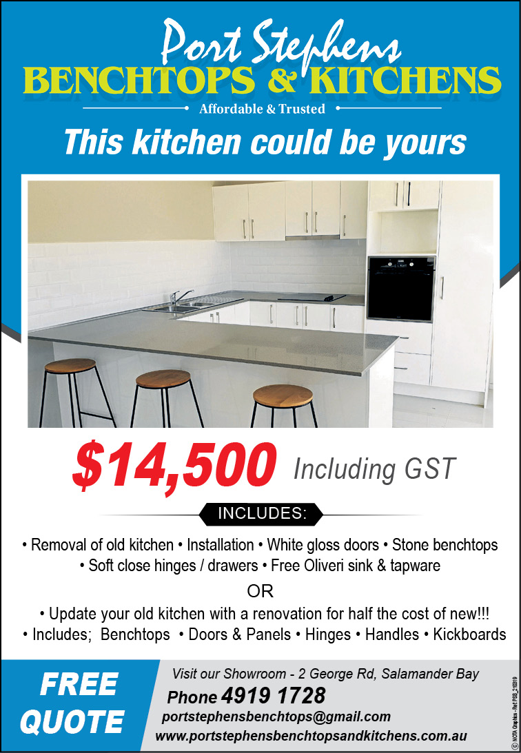 Port Stephens Benchtops