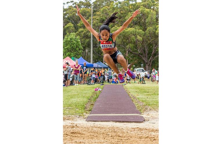 Competitor Keira McGregor.