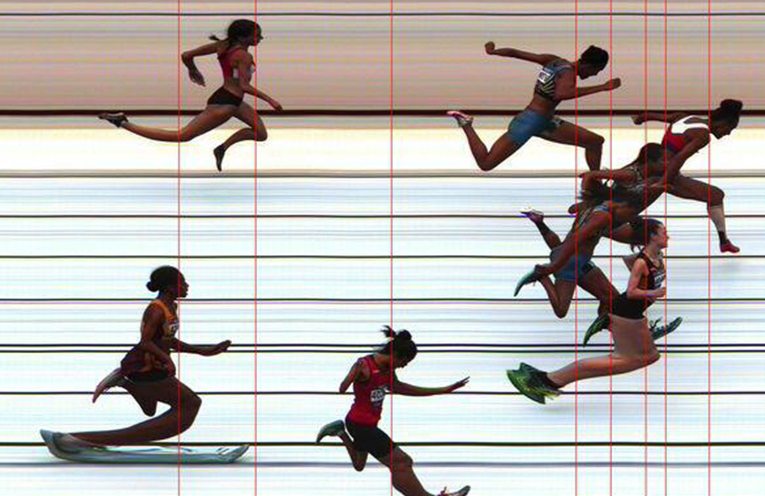 LITTLE ATHLETICS  STATE CHAMPIONSHIPS; Hawks Nest's Keira McGregor 3rd in photo finish.