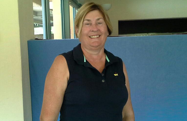 Gaye Gillard winner monthly medal February.