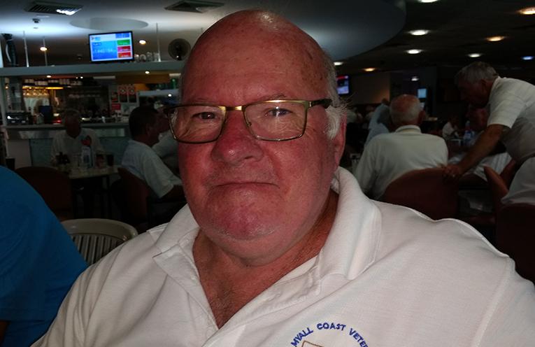 C Grade winner Peter King.
