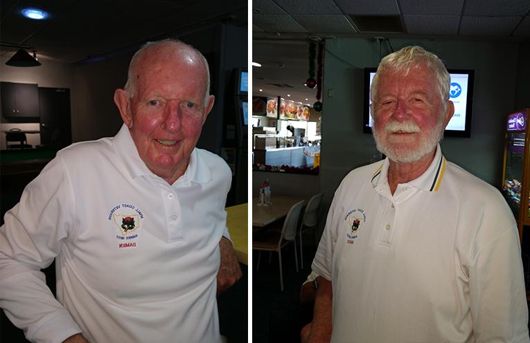 B Grade winner Damien Ward. (left) C Grade winner Bruce Richards. (right)