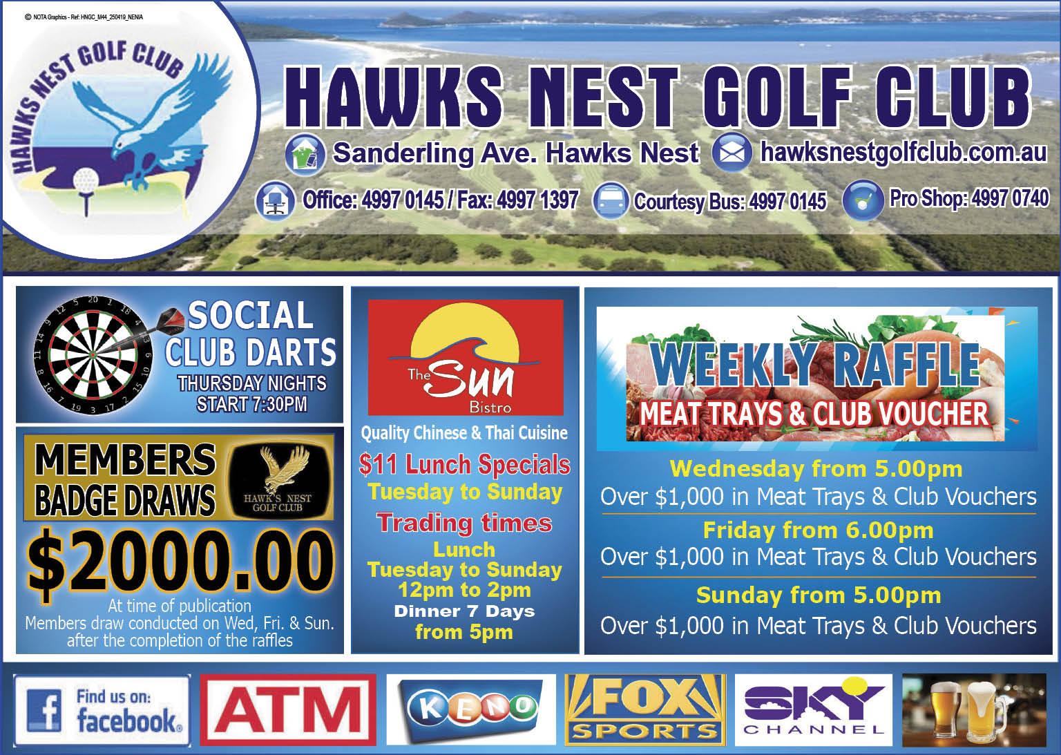 Hawks Nest Golf Club