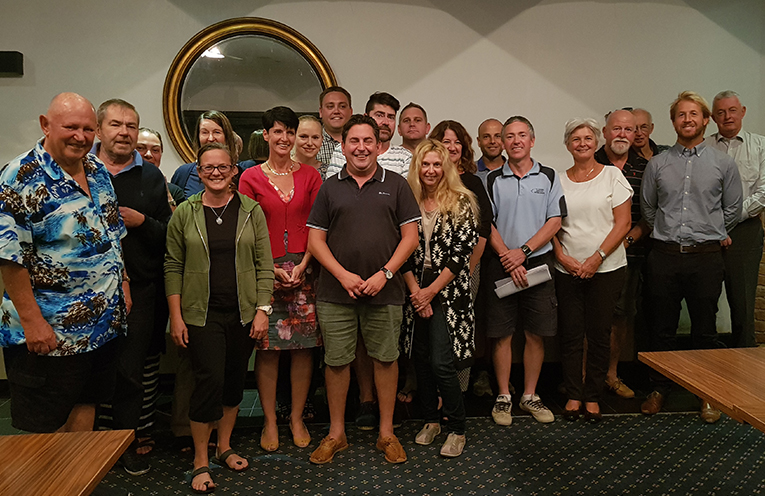 TEA GARDENS HOTEL: Myall Coast Chamber of Commerce member and River Festival Committee.