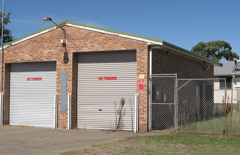 Tanilba Fire Station – to become leased by 1st Tilligerry Scouts.