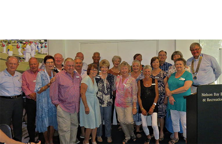 The 2019 Dream Team - The Dreams who will plan the Probus Club of Port Stephens activities for the next year.