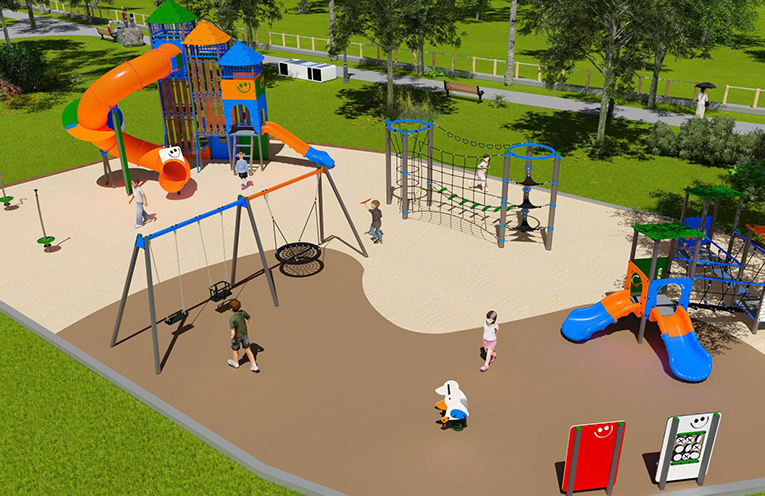 The playground at Providence Bay Reserve Hawks Nest is set for a makeover, as MidCoast Council commences works.