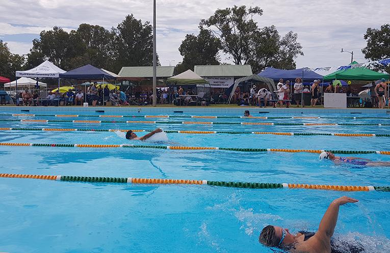 TEA GARDENS: Myall Masters Swim Meet.