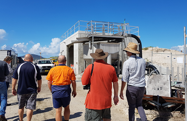WINDA WOPPA: Sand Transfer Pumping Station.