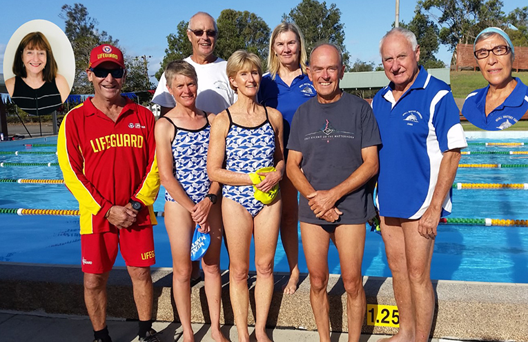 MYALL MASTERS MARATHON: Swimmers raising funds for the Starlight Foundation.