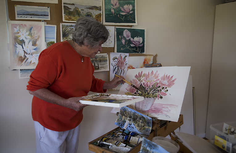 Sandy Shuetrim painting.