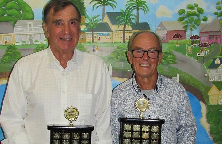 MYALL MASTERS PRESENTATION: John Estens and Doug Gillespie.