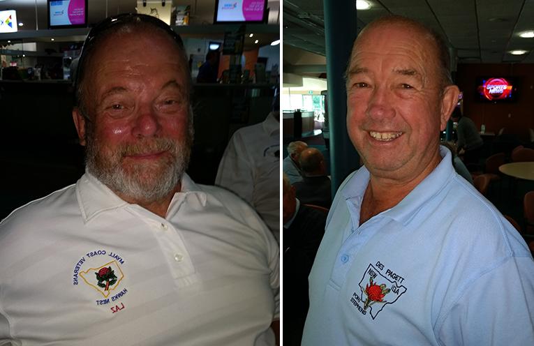 B Grade winner Larry Campton. (left) C Grade winner Des Pagett.  (right)