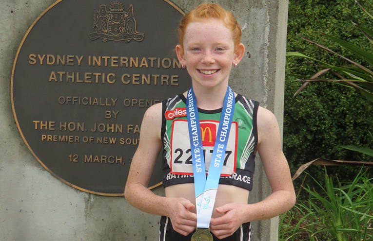 Gold Medalist Dixie Conlan.