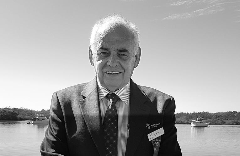 Councillor Len Roberts