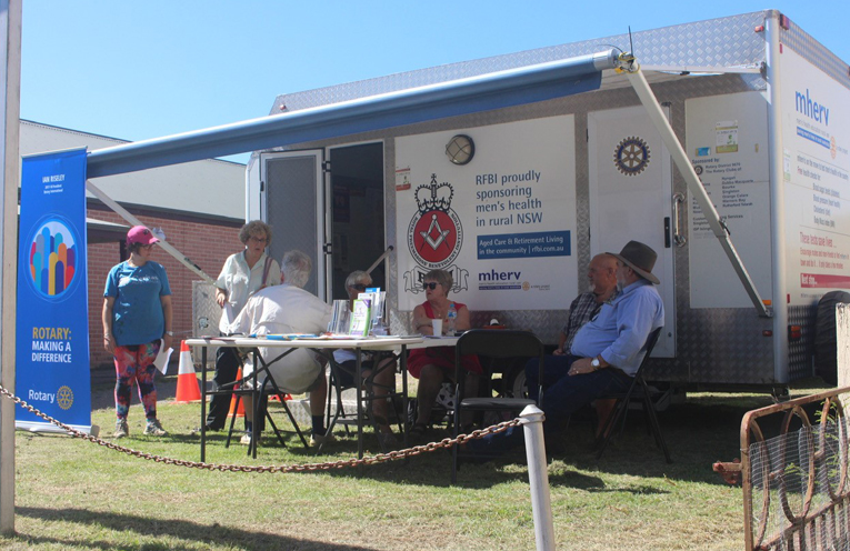 Free health checks for all men available in Raymond Terrace.