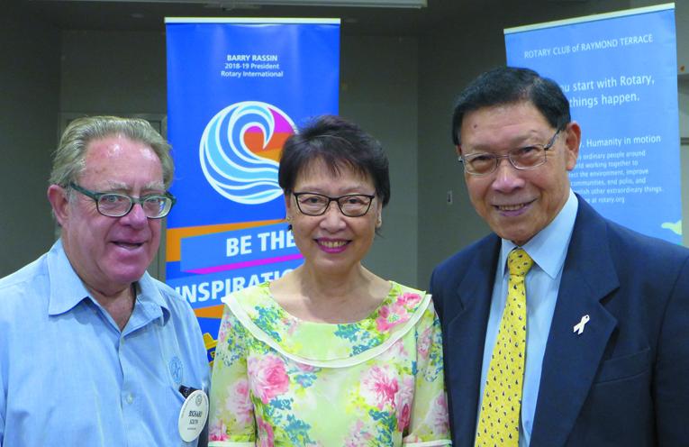 Richard South, Leng Chin, and Jon Chin (photo supplied).