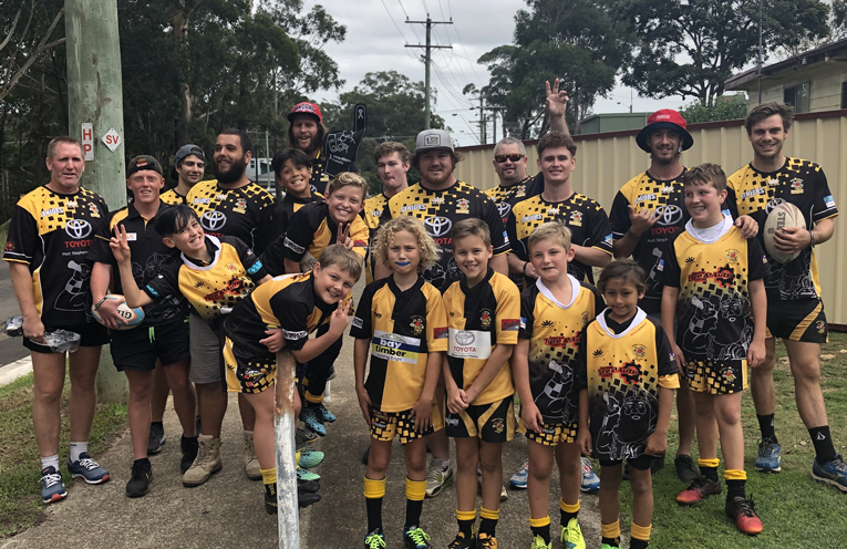 Medowie& Districts Rugby Union Club 'Walk The Talk'.