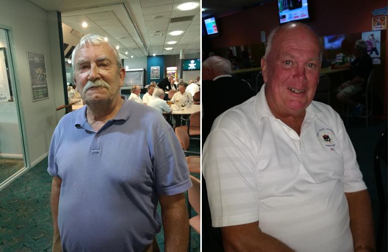 Front nine winner Frank Murphy. (left) Back nine winner Bill Vandenberg. (right)