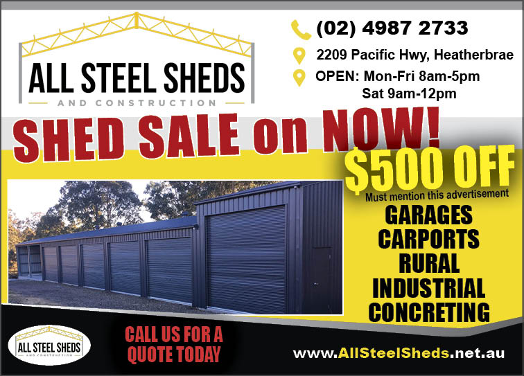 All Steel Sheds