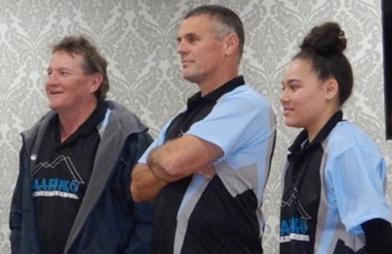Phil Wallis, Rob Wiles and Jomeca Lafaialii. Photo by Warwick Hall.