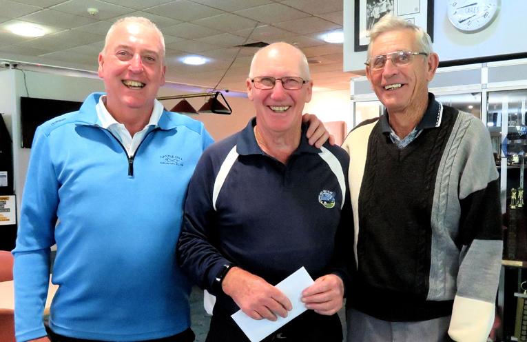 Winners Gerard Power, Errol Chivers and Joe James.