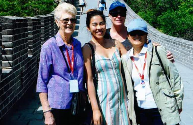 Loretta, Annette, Vanessa and Amanda.