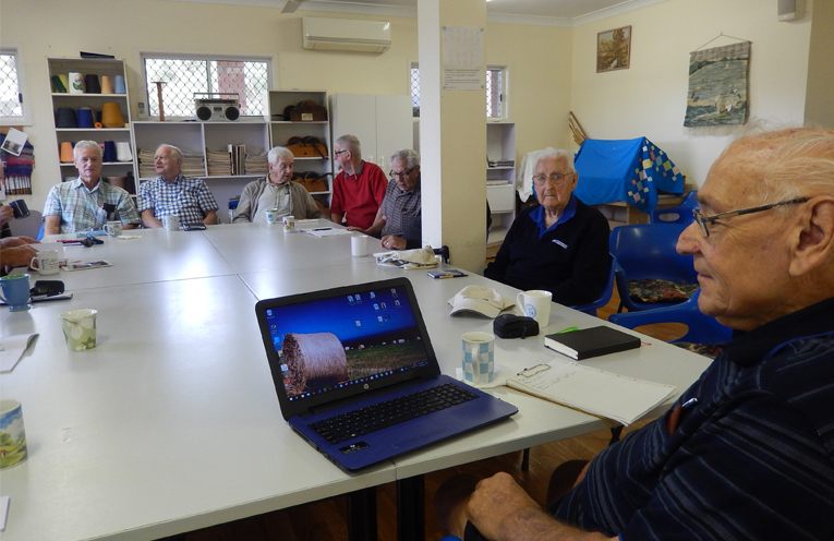 Tomaree Probus Club has an active computer group