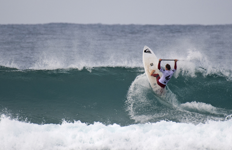 Justin Holland carving it up.
