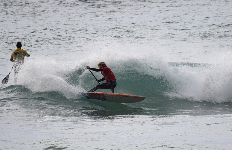Anna Bay's Josh Stretton in good form at the Port Stephens Surf Festival. Photo by Ethan Smith Surfing NSW.