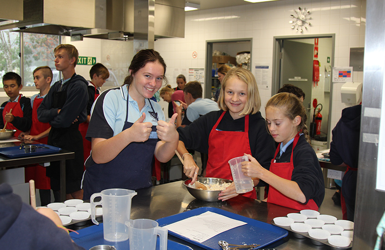 Various students from other schools – Food Technology