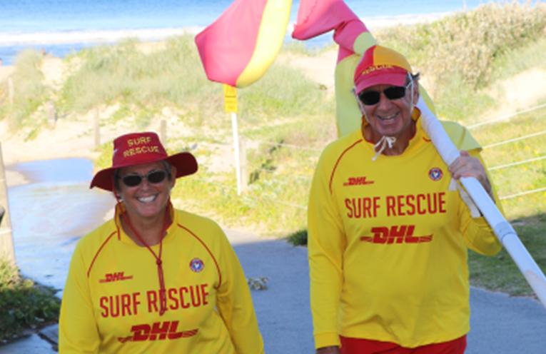 Surf Club members.