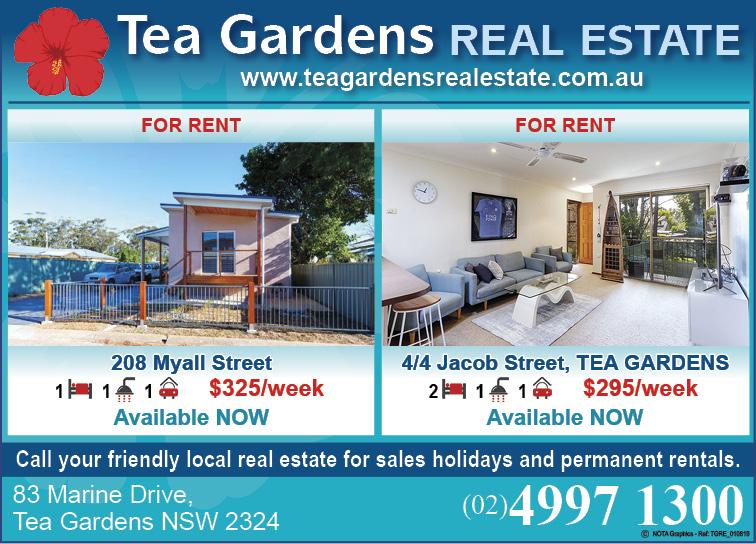 Tea Gardens Real Estate